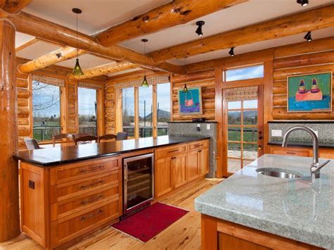 Open Cabin Amish Crafted Log Cabins Log Cabin Open Floor Plans Car