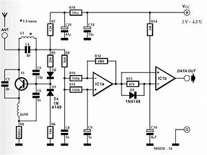 Receiver And Transmitter Low Cost Data Circuit Diagram