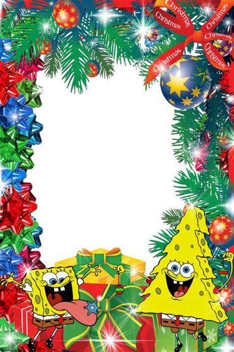 marcos  fotos de navidad  bob esponja