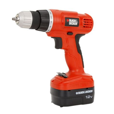 Black+decker 12volt Nicd Cordless 38 In Drill With Soft