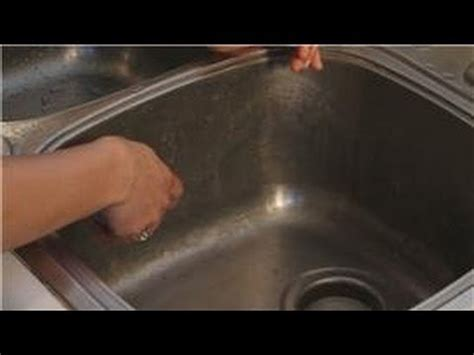 what to use to clean kitchen sink kitchen cleaning how to clean rust in a kitchen sink 2163