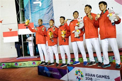 asian games hard work pays   indonesias gold