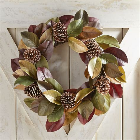 fall wreath ideas   beautiful front door