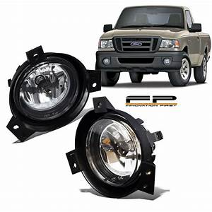 2001 2002 2003 Ford Ranger Replacement Fog Lights Clear