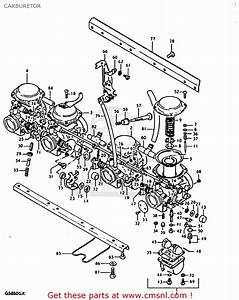 Suzuki Gs850 1980  Gt  Carburetor