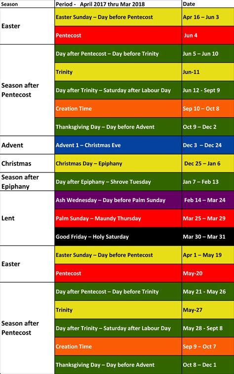 liturgical colors liturgical colours sjruc