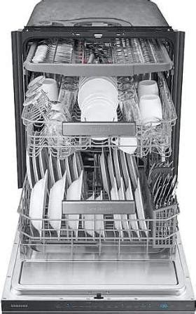 dwrug samsung  dishwasher linear wash autorelease black stainless steel ultra