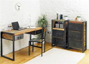 industrial chic furniture sets for office | Office ...