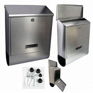 s s steel wall mounted lockable mail letter post box With wall mounted letter box