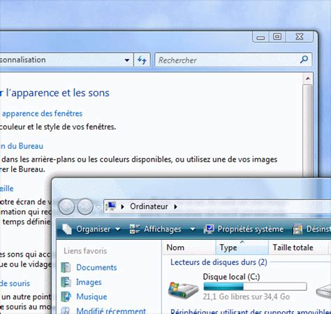 performance du bureau pour windows aero pc astuces activer l 39 interface aero windows vista