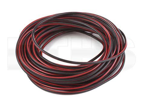 kabel schwarz rot kabel flry b schwarz rot 1 00mm 1 meter mz und