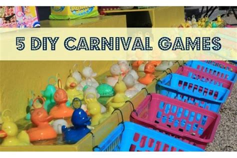 Difficult Halloween Riddles For Adults by 5 Diy Carnival Games You Can Make At Home Bedtime
