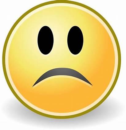 Sad Smiley Mood Face Faces Clipart Icon