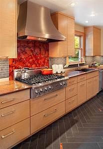 Kitchen, Backsplash, Ideas, A, Splattering, Of, The, Most, Popular, Colors
