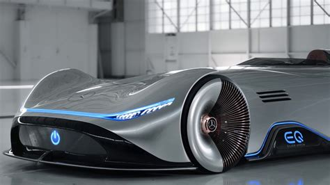 Mercedes Benz Vision Eq Silver Arrow Concept Footage Youtube