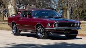 Royal Maroon 1969 Ford Mustang