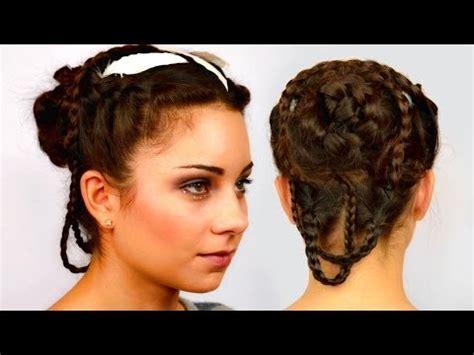 katniss everdeen wedding braided updo  gorgeous