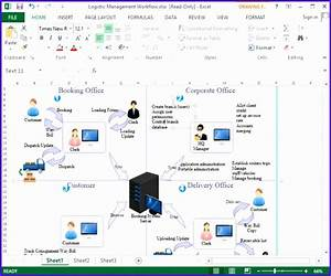 7 Flow Chart Template Excel - Excel Templates