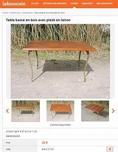 Touret Bois Le Bon Coin : table basse en bois le bon coin ~ Dailycaller-alerts.com Idées de Décoration