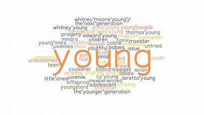 Young Synonyms Word Another Related Grammartop Words