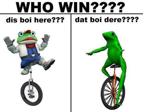 Dat Boi Memes - dis boi vs dat boi dat boi know your meme