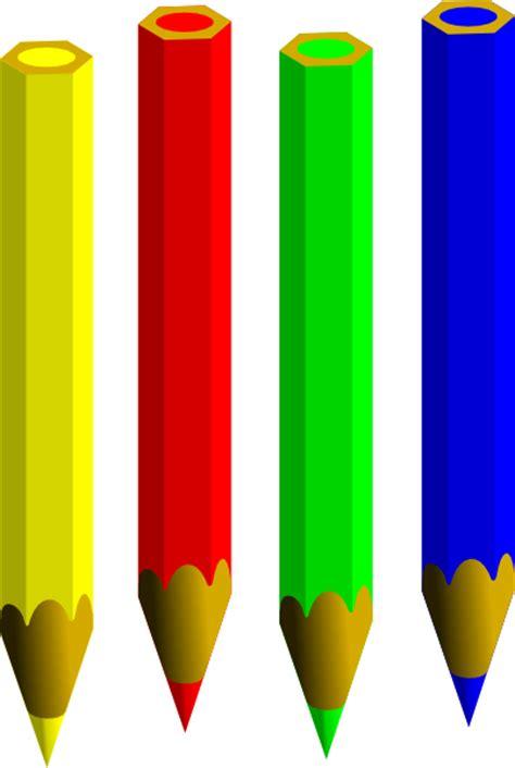 color pencils clip art  clkercom vector clip art
