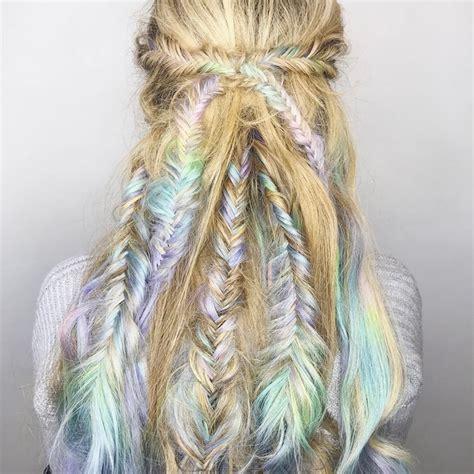 intricate pastel braids  making women   theyre