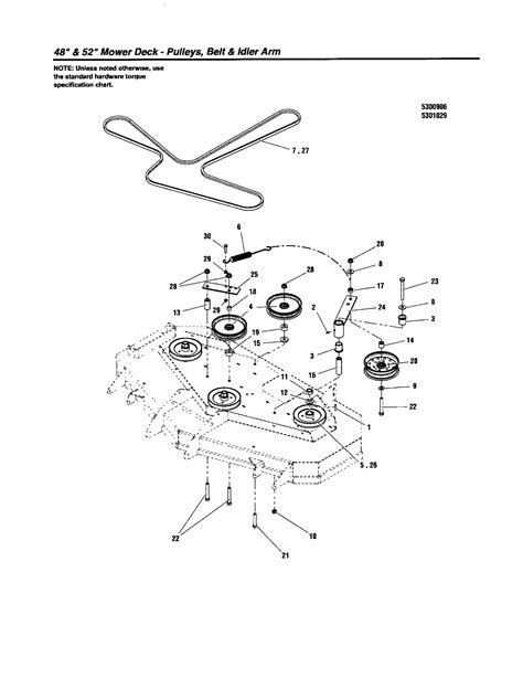 S150 Snapper Belt Diagram by Pulleys Belt Idler Arm Diagram Parts List For Model
