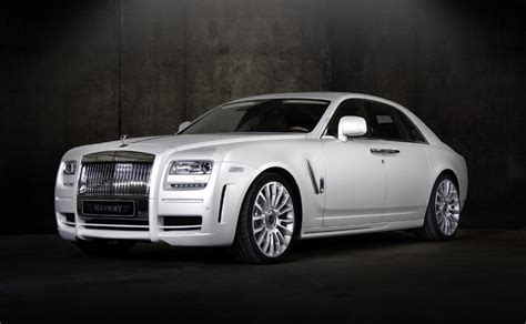Rolls Royce Limited Edition by Limited Edition Rolls Royce White Ghost From Mansory