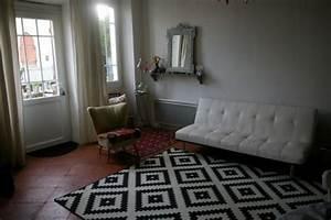 salon un art de vivre With tapis de sol avec canapé marie claire