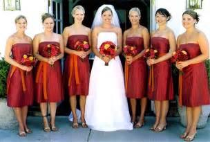 fall color bridesmaid dresses burnt orange wedding bridesmaid dresses wedding dresses burnt orange bridesmaid dresses
