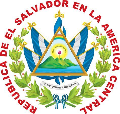 El Salvador Coat Of Arms Free Coloring Pages