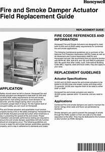 38 00001 U201401 Fire And Smoke Damper Actuator Field