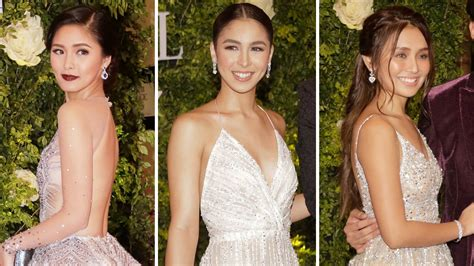 julia barretto on star magic ball 2017 the stunning ladies at the star magic ball 2017 cosmo ph