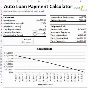 6 Loan Repayment Calculator Excel Template