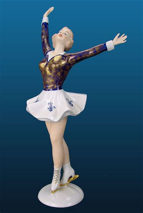 wallendorf cobalt ice skater figurine wallendorf porcel 225 n pinterest ice products and ice