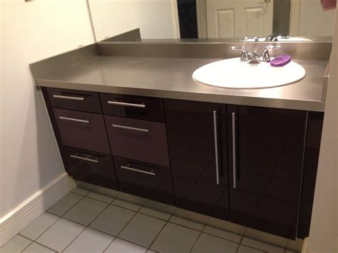 Thermofoil Kitchen Cabinets by Thermofoil Cabinet Doors Bathroom Modern With Acrylic