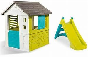 Cabane Enfant Plastique : cabane avec toboggan plastique mes enfants et b b ~ Preciouscoupons.com Idées de Décoration