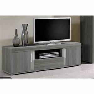 Meuble Tv Bois Gris : meuble tv bois gris lavigne meuble house achat vente meuble tv meuble tv bois gris lavign ~ Teatrodelosmanantiales.com Idées de Décoration