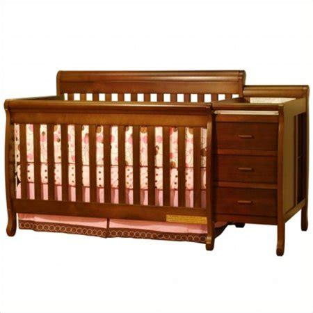 crib and changer combo athena 3 in 1 convertible crib and changer combo