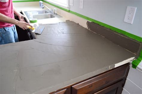 Trying Our Hand At DIY Ardex Concrete Counters   Young