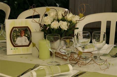 table de communion en vert et blanc le piolot fr