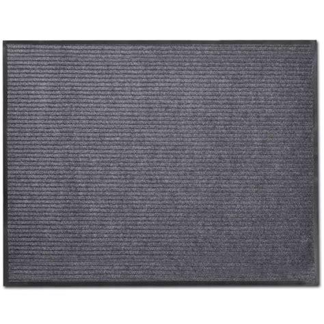 gray doormat gray pvc door mat 2 9 quot x 3 9 quot vidaxl