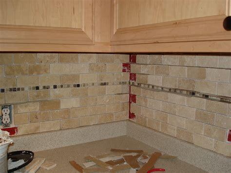how to do backsplash in kitchen tutorial tile kitchen back splash