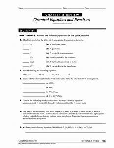 12 Best Images Of Modern Biology Worksheet Answers