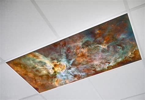 The Carina Nebula Featured In One Of Our Fluorescent Light