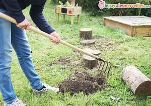 Sur Quoi Poser Un Abri De Jardin : diy un parcours de motricit avec des b ches de bois ~ Dailycaller-alerts.com Idées de Décoration