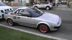 Purchase Used 1985 Toyota Mr2 Stick Shift 5 Speed  Engine Very Good Strong And Fast  A  C Need In