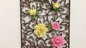 How to make a beautiful paper wall decoration diy home