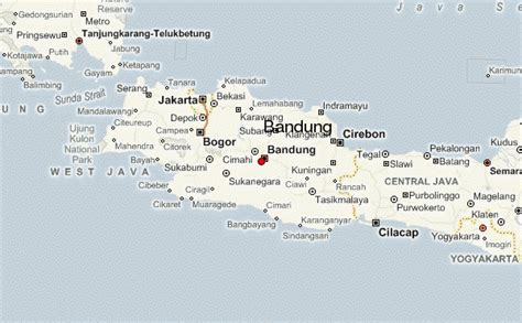 bandung location guide